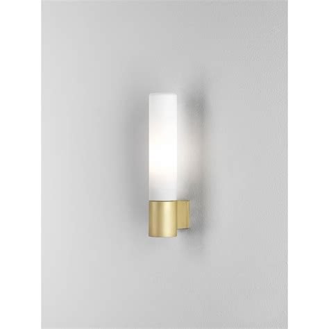 Single Bathroom Light Fixtures Astro Lighting Bari Single Light Halogen Bathroom Fitting In Matt Gold Finish Lighting Type