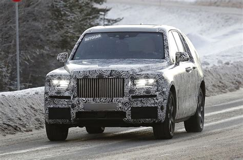 roll royce jeep rolls royce cullinan suv on course to rival bentayga in