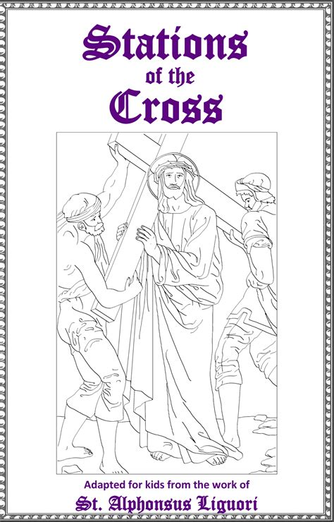 stations cross excellent free printable booklet st john baptist catholic