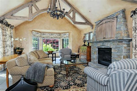 country family rooms portola valley french country custom home