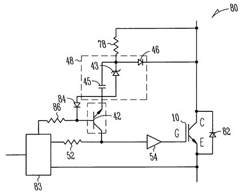 transistor igbt driver patent us7768337 igbt driver circuit for desaturated turn with high desaturation level