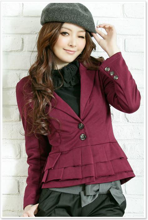 Blazer Ala Korea Fashion Blazer Ala Korea