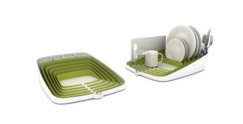 Joseph Joseph Dish Rack by Arena Draining Rack Dish Drainer Green White By Joseph