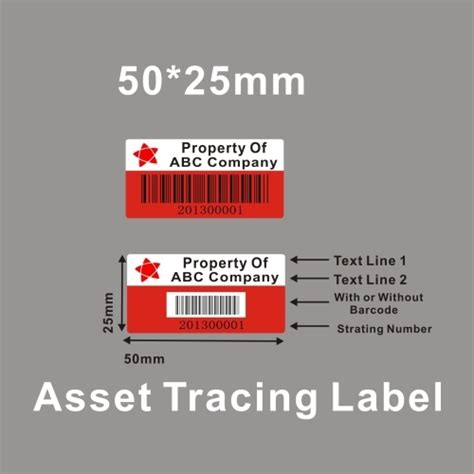 Sticker Label Nama Anti Air Dove Gold Size M Isi 72 Pcs Asset Tag Labels Protect Property From China Manufacturer