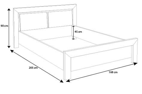 dimension de lit dimension lit deux places standard table de lit
