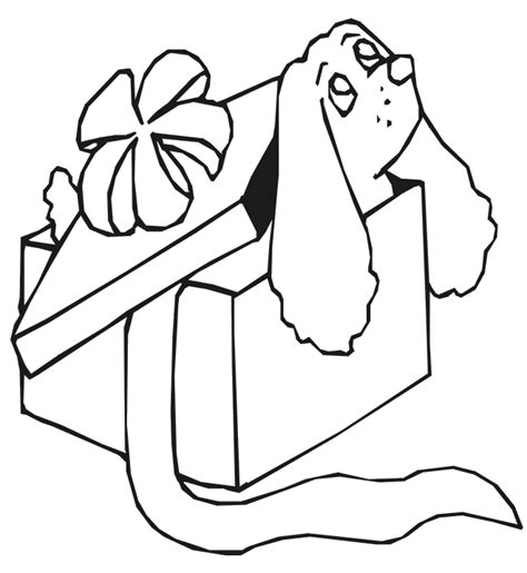 coloring page of gift box gift box coloring pages coloring pages for free