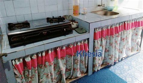 Tirai Kolong Dapur jual gorden dapur untuk kolong bawah kompor gas