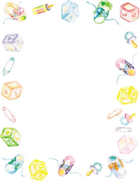 free printable baby shower borders 5 best images of printable baby borders of trains