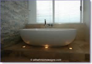 Install New Bathtub Modern Bathroom Lighting Designs