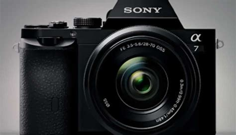 Sony A7 Kamera Mirrorless sony a7 and a7r frame mirrorless on