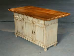 Wooden Kitchen Islands by Reclaimed Wood Kitchen Island Traditional Kitchen