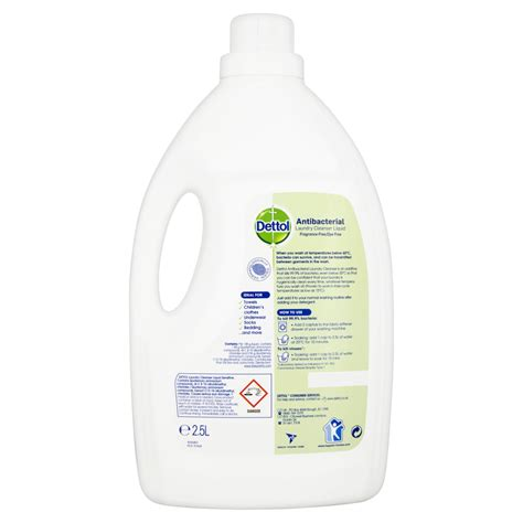 Parfum Laundry Di Pekanbaru dettol anti bacterial laundry cleanser sensitive 2 5l fragrance free ebay