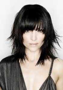 images front and back choppy med lengh hairstyles medium length choppy haircuts