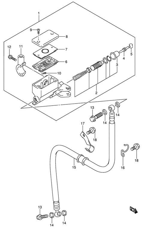 Master Kopling Atas Cylinder Assy Clutch Suzuki 1 clutch master cylinder for 2002 dl1000k2 e2 k2 sales region 11456279 722391