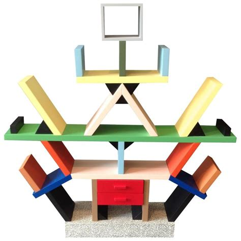 libreria sottsass carlton miniature 1 4 scale by ettore sottsass for sale