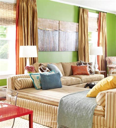 green colored rooms 15 green living room design ideas