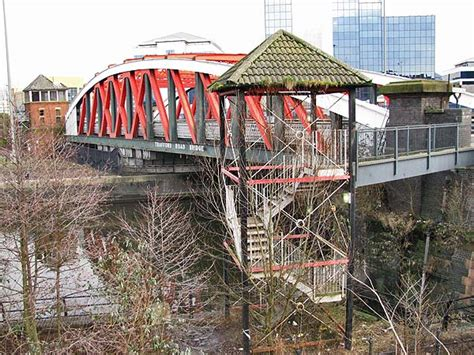 swinging bridge trafford the trafford road swing bridge
