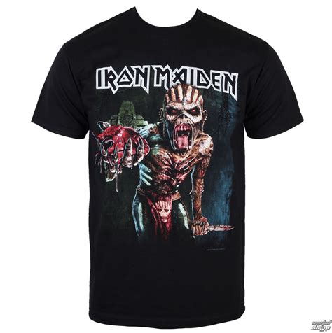 T Shirt Metal Iron Maiden merchandising iron maiden