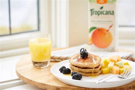 Tropicana Syrup orange graham pancakes with orange syrup recipe tropicana ca