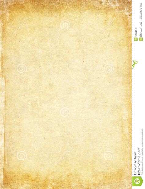 How To Make Aged Paper - aged paper texture stock photo image 12559570