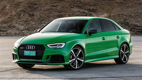 audi rs3 sedan 2018 audi rs3 sedan drive the no compromise compromise