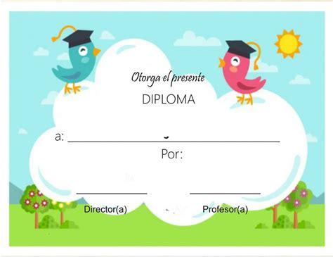 para ni os e infantil diplomas para imprimir gratis para ni os bienvenido a fichas escolares fichas escolaresfichas