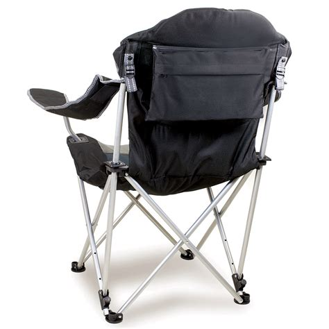Reclining Folding Chairs by Reclining C Chair Black Picnic Time 803 00 175