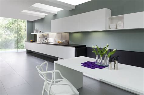 Black Lacquer Kitchen Cabinets contemporary kitchens