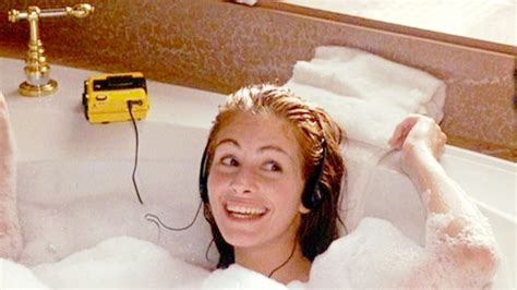 the bathtub movie watch julia roberts singing prince in pretty woman is