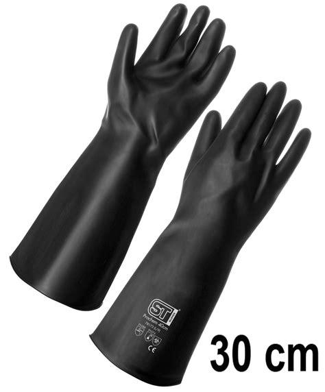 arrow rubber st rubber supertouch prochem heavy duty glove 30cm length