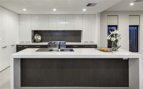 white kitchens grey bench tops contemporary kitchens inavogue part 2
