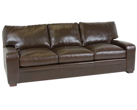 vancouver leather sofa classic leather vancouver sofa 4513 leather furniture usa