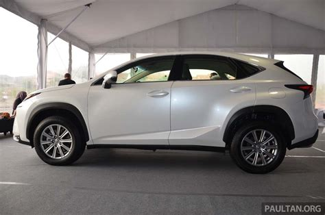 lexus nx malaysia lexus nx launched in malaysia from rm299k rm385k image 307690