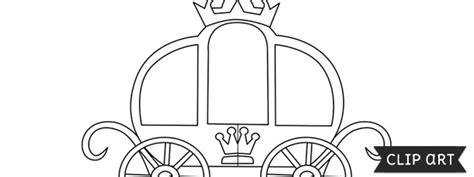 princess carriage template princess carriage template clipart