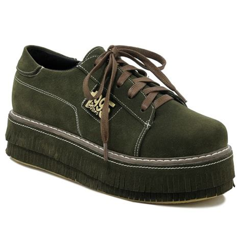 army pattern shoes wholesale pu leather figure pattern platform shoes 37 army