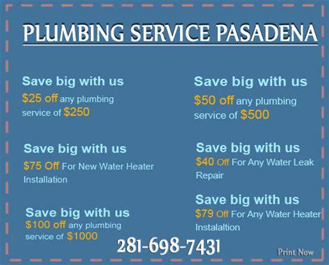 Pasadena Plumbing by Plumbing Service Pasadena