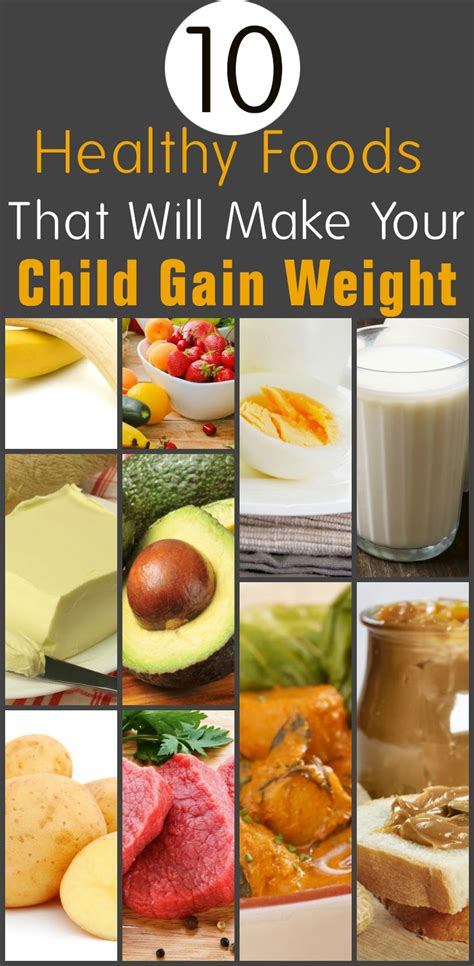 10 Best Weight Gaining Foods top 10 healthy weight gain foods for