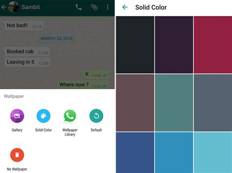 whatsapp wallpaper update whatsapp for android to soon add quick reply feature