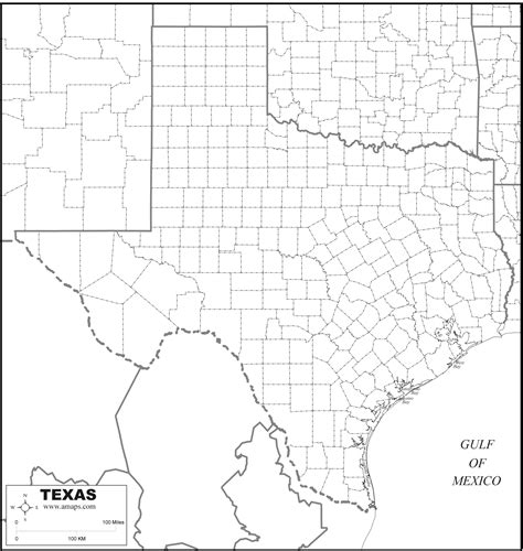 printable maps of texas free map of texas