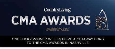 Game Awards 2016 Giveaway - country living cma awards 2016 sweepstakes countryliving com cmaawards2016