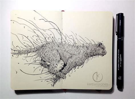 Kerby Rosanes Sketchbook Drawings From 2014 Scene360