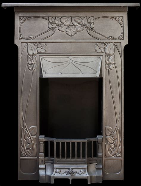 Nouveau Cast Iron Fireplace by Nouveau Bedroom Cast Iron Fireplace