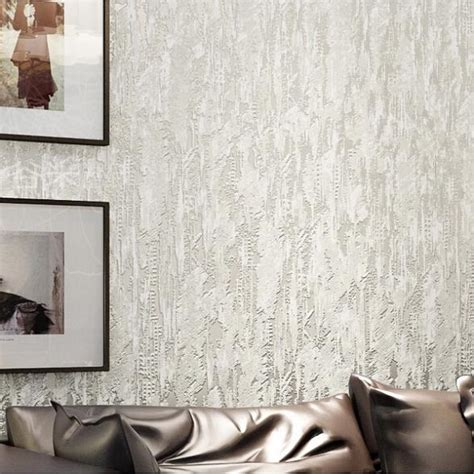 textured wall coverings modern white 3d flocking abstract embossed textured