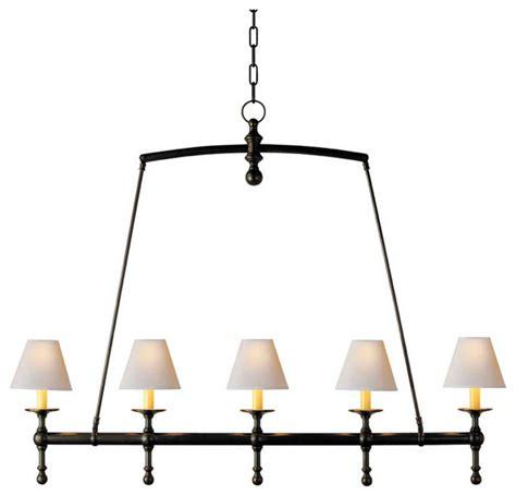 Linear Chandelier Lighting Classic Linear Chandelier Traditional Chandeliers By Circa Lighting