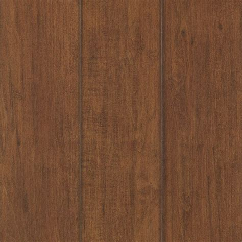Lowes Flooring Laminate by Mohawk 4 86 In X 47 16 In 12mm Toasted Maple Laminate