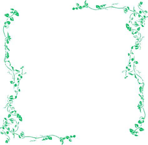 light border vine border light green clip at clker vector