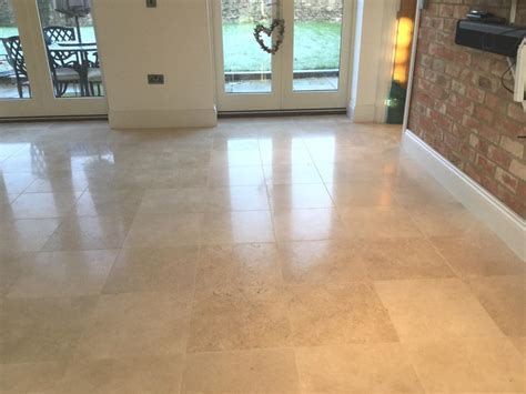 Maintaining the Appearance of Polished Limestone in