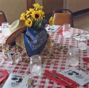 country western decorations best 25 western table decorations ideas on