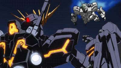 gundam gif wallpaper vs unicorn gif find share on giphy