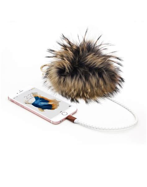 Black Furball Bag Charm 70 best trendy tech images on i phone cases